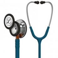 Stetoskop Littmann Classic III, student-Spegel finish/Karibienblå slang/Orange stam