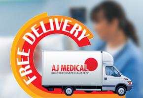 AJ Medical erbjuder Fri frakt!