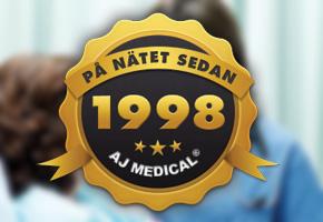 AJ Medical firar 15 år på nätet!
