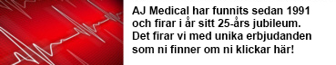 AJ Medical firar 25-?rs jubileum